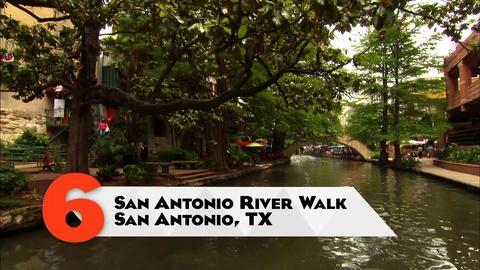 10 That Changed America -- Parks | San Antonio River Walk, San Antonio, TX