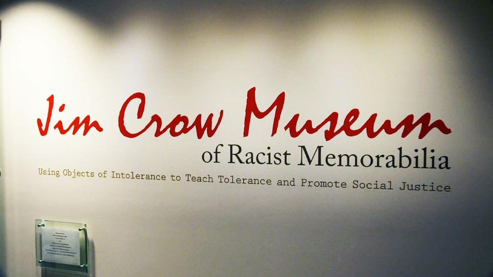 Racist Images and Messages in Jim Crow Era image