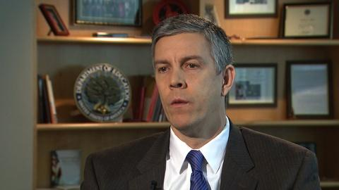 After Newtown -- Interview: Secretary of Education Arne Duncan