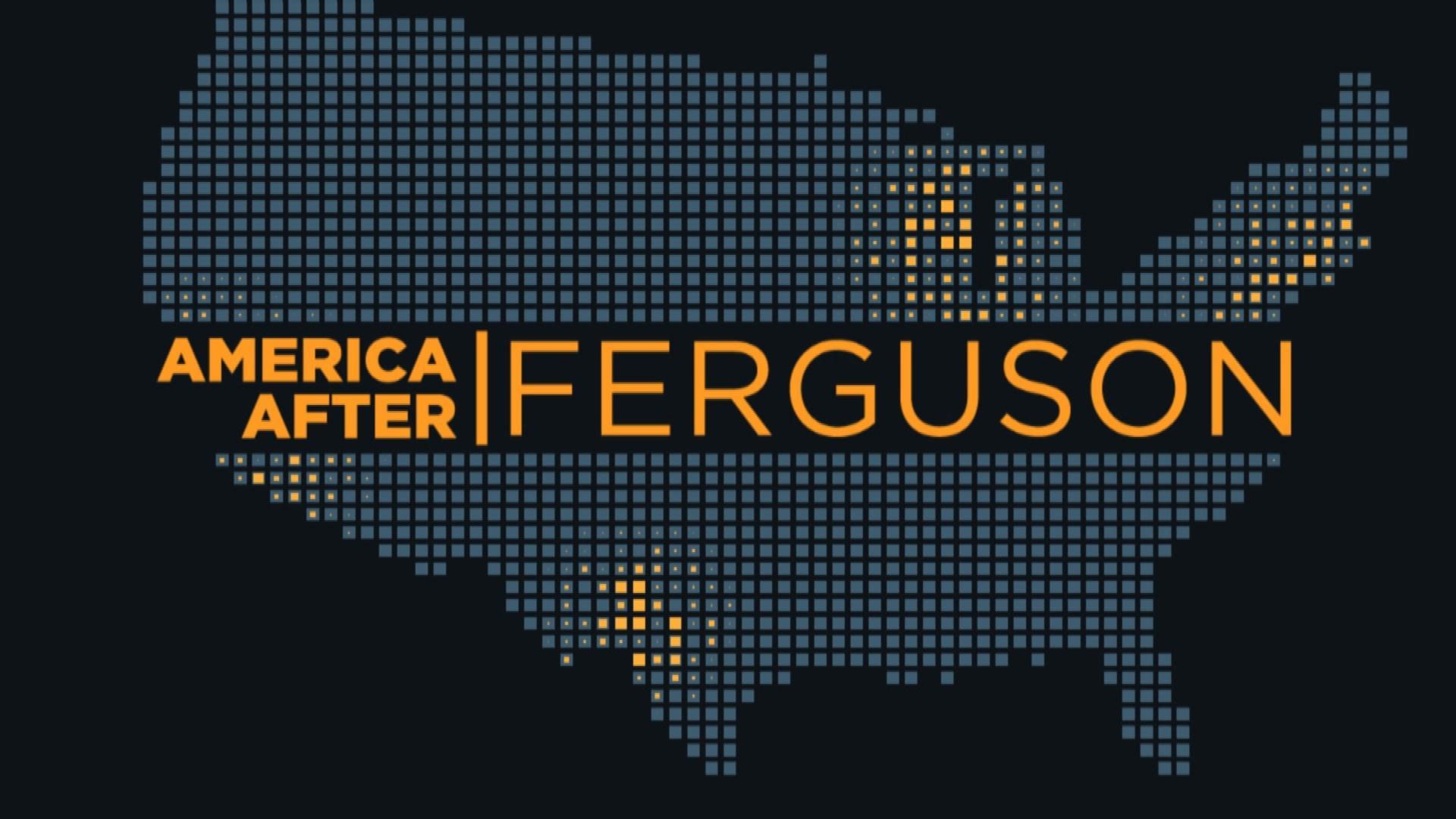 America After Ferguson graphic