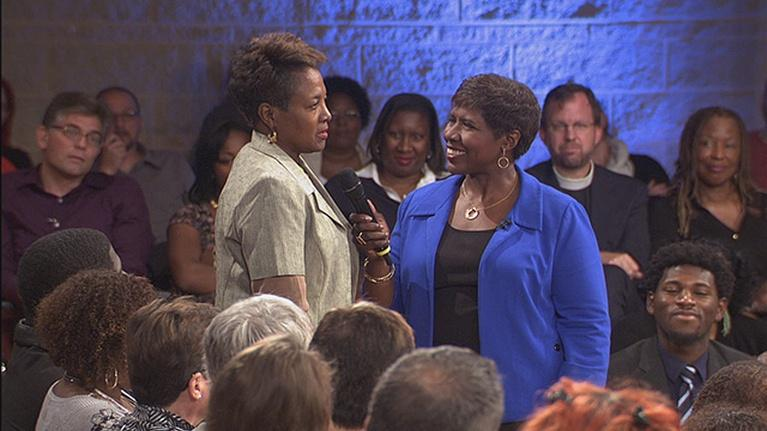 America After Ferguson: Race Card Project in action at Town Hall