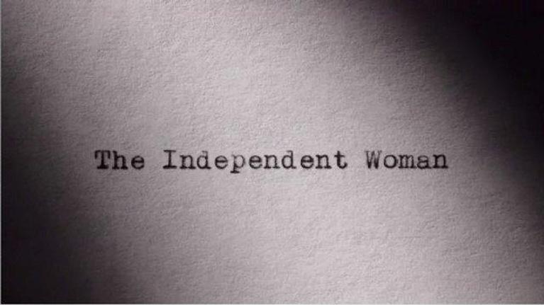 America in Primetime: The Independent Woman