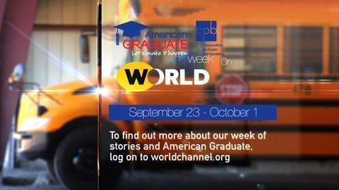 America Reframed -- S2: American Graduate Week on WORLD | Promo