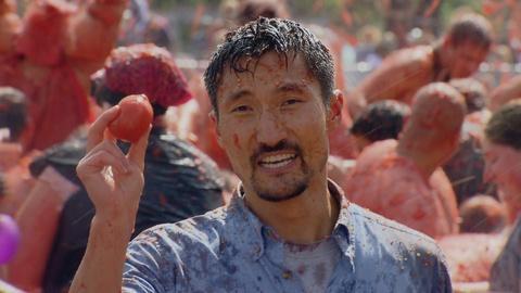 America Revealed -- La Tomatina