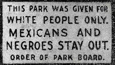 Discrimination against Mexican-Americans