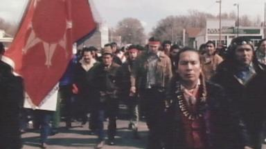 What was the American Indian Movement?