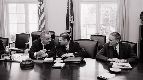 American Experience -- S26 Ep2: Candidate Johnson Versus President Johnson on Vietn