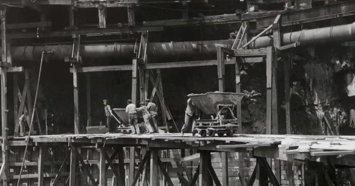 Constructing Pennsylvania Station