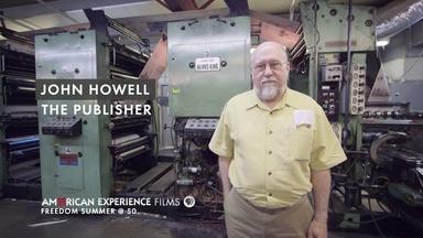 """John Howell - """"The Publisher"""""""