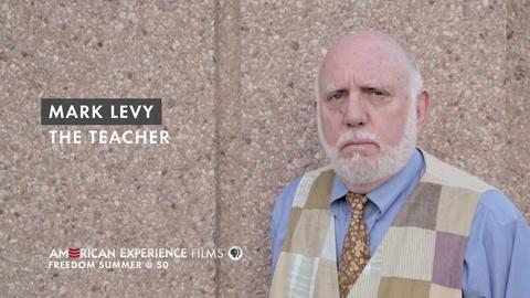 "American Experience -- S26 Ep6: Mark Levy - ""The Teacher"""