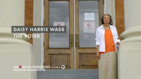 """American Experience -- S26 Ep6: Daisy Harris Wade - """"The Voter"""""""