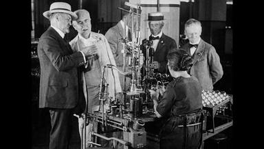 A Day with Thomas A. Edison
