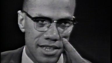 Malcolm X Challenges Martin Luther King's Goals