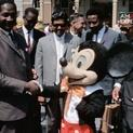 Visitors to Disneyland
