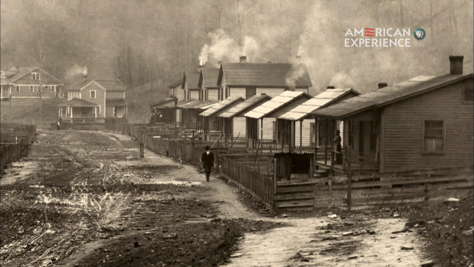Coal Towns, from The Mine Wars