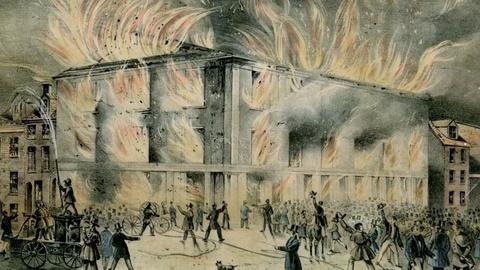 American Experience -- S1: The Burning of Pennsylvania Hall