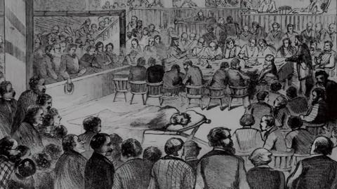 American Experience -- S1: Brown Dominates His Trial