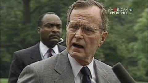 HW Bush on Policing the World: Opposing Iraqi Aggression