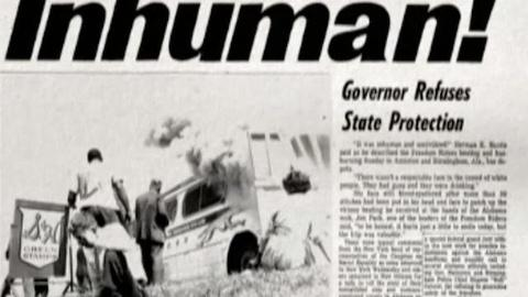 American Experience -- S23 Ep11: From the film Freedom Riders: The Media, part 1