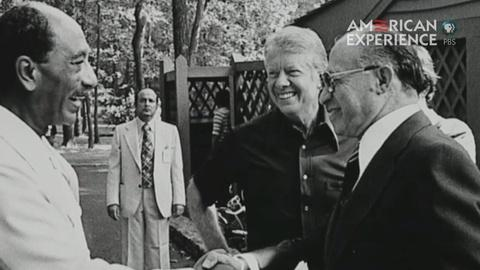 American Experience -- S24: Carter and Ending War: the Camp David Accords