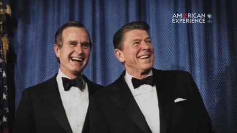 American Experience -- S24: Bush on Military Service: Bush vs. Reagan
