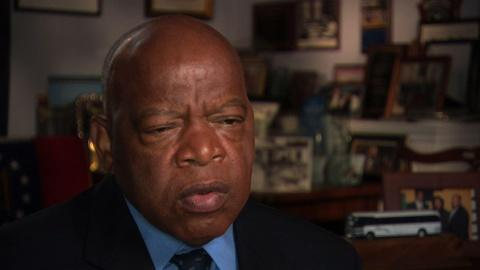 American Experience -- S23 Ep11: From the film Freedom Riders: John Lewis on the Sp