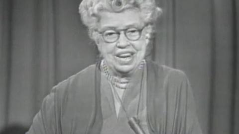 American Experience -- S12: Prospects of Mankind with Eleanor Roosevelt