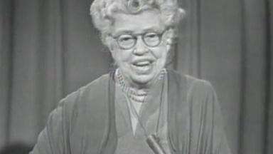 Prospects of Mankind with Eleanor Roosevelt