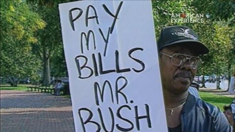 American Experience -- S24: Bush on the Economy: a Sluggish Economy