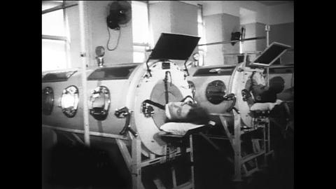 American Masters -- Polio and Iron Lungs in the 1950s. Le Clercq's Illness.