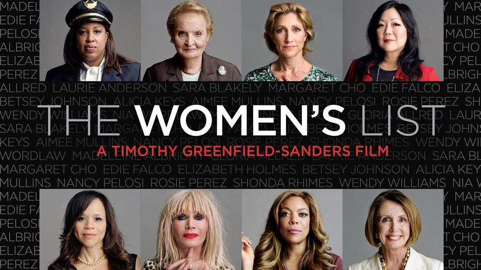 The Women's List - Trailer image