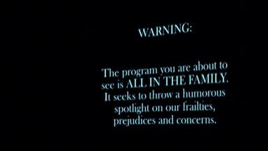 Norman Lear - All in The Family Disclaimer