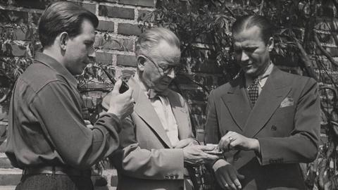 Eero and Eliel Saarinen Compete for St. Louis