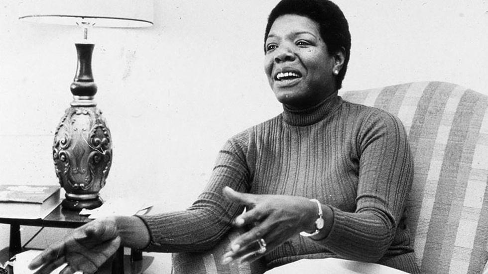 Maya Angelou On Teaching image