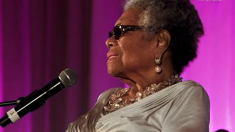 American Masters -- Hear how Maya Angelou met Tupac Shakur for the first time