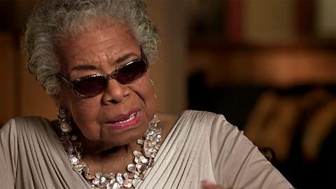 Listen to Dr. Maya Angelou's take on creative writing
