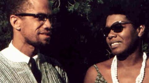 Explore the friendship between Maya Angelou and Malcolm X
