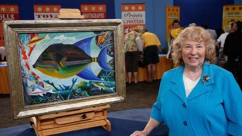 Antiques Roadshow -- S13 Ep3: Owner Interview: Joseph Stella Painting