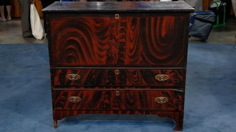 Antiques Roadshow -- S15 Ep7: Appraisal: New England Painted Blanket Chest, ca. 1