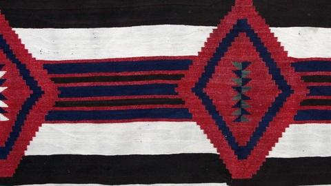 Antiques Roadshow -- S15 Ep18: Appraisal: Navajo Third Phase Chief's Blanket, ca.