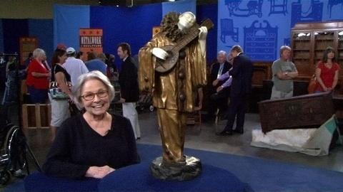Antiques Roadshow -- S15 Ep7: Owner Interview: Chiparus Bronze & Marble Statue