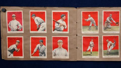 Antiques Roadshow -- S15 Ep20: Appraisal: Cracker Jack Baseball Cards, ca. 1914