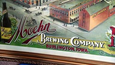 Appraisal: Moehn Breweriana Poster, ca. 1915