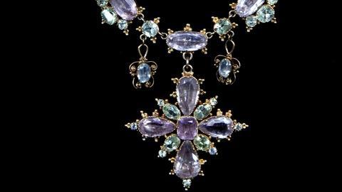 Antiques Roadshow -- S15 Ep11: Appraisal: Georgian Gem-Set Necklace, ca. 1830