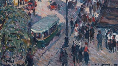 Antiques Roadshow -- S15 Ep4: Appraisal: 1919 Emil Artur Longen Oil Painting