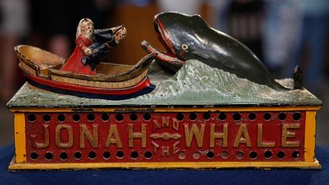 "Antiques Roadshow -- S15 Ep8: Appraisal: ""Jonah & The Whale"" Mechanical Bank, ca."