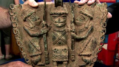 Antiques Roadshow -- S16 Ep15: Appraisal: 20th-Century Benin Pendant Reproduction