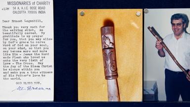 Appraisal: 1997 Mother Teresa Signed Note