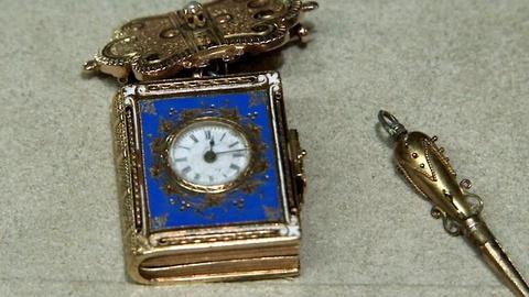 Antiques Roadshow -- S16 Ep2: Appraisal: Enamel Book Form Watch, ca. 1860