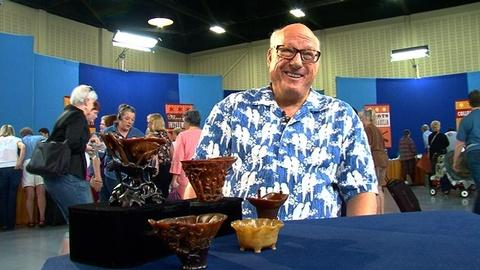 Antiques Roadshow -- S16 Ep1: Owner Interview: Rhinoceros Horn Cups
